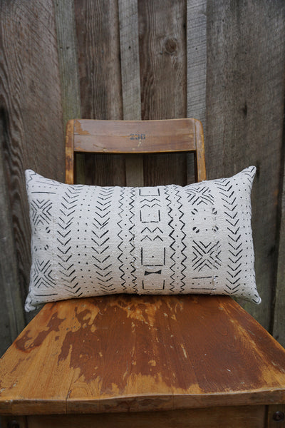Dawn - African Mudcloth Pillow
