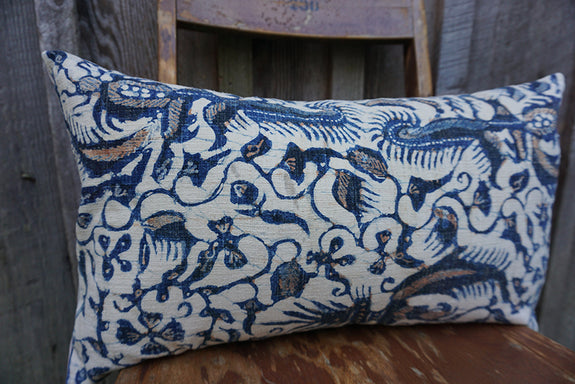 Juniper - Indonesian Batik Pillow
