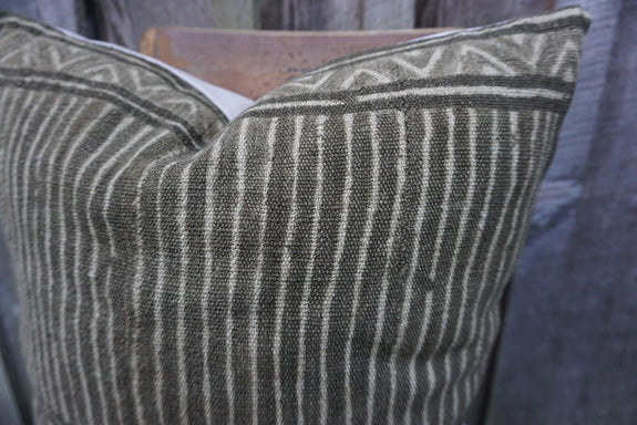 Margot - Vintage African Mudcloth Pillow