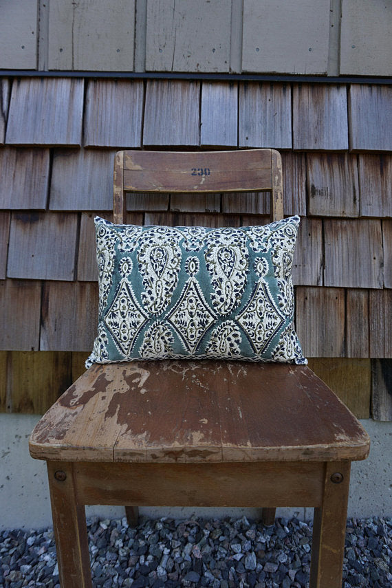 Kalia - Indian Blockprint Pillow