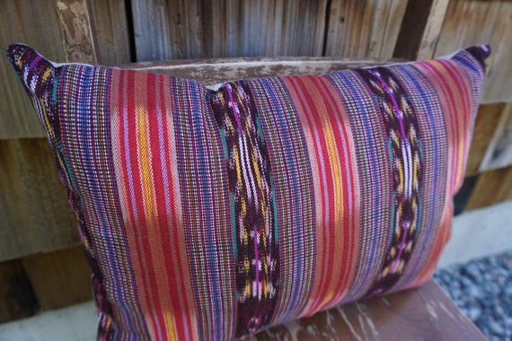 Riley - Guatemalan Textile Pillow