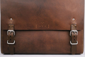 The Goodstead - Ethical Leather Satchel