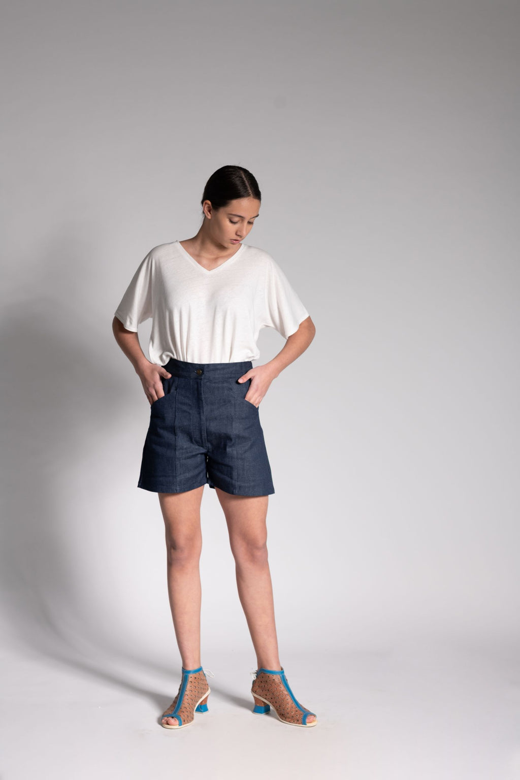 Organic Architect Denim Shorts