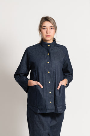Organic Denim Gallagher Jacket