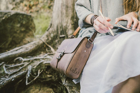 The Companion - Ethical Leather Satchel