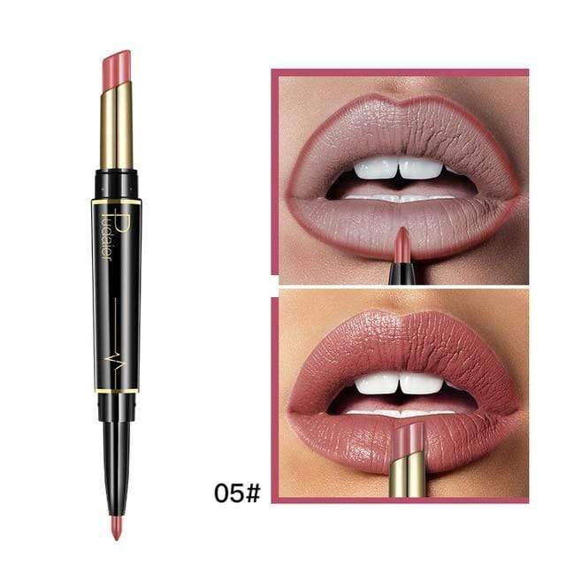Glad Genie 05 Waterproof Double Ended Long Lasting Lipstick