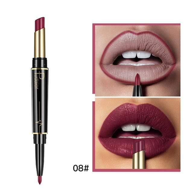 Glad Genie 08 Waterproof Double Ended Long Lasting Lipstick