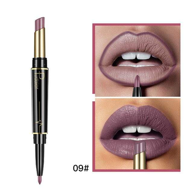 Glad Genie 09 Waterproof Double Ended Long Lasting Lipstick