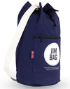 Navy & Cream Duffle Bag