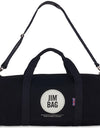 Black & Cream Holdall Bag