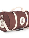 Chocolate Holdall Bag