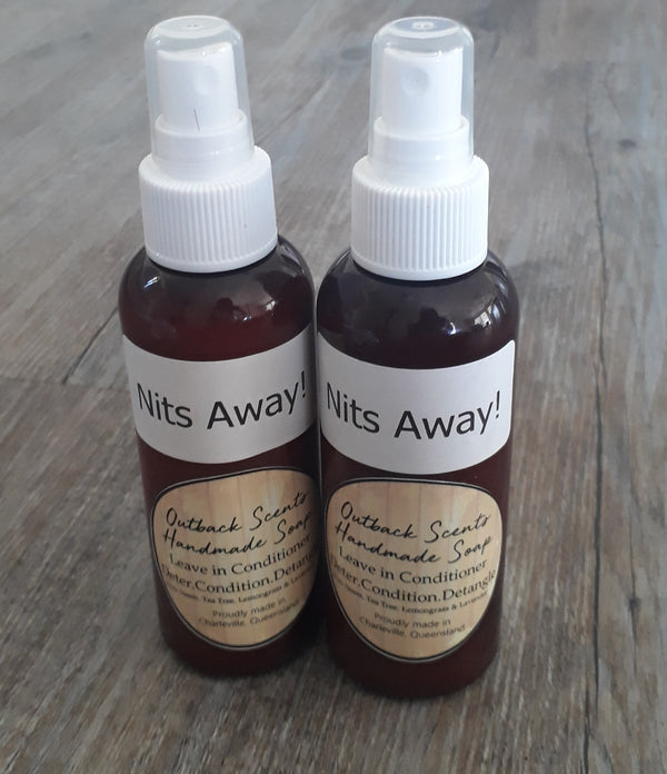 Nits Away 3 in 1 Spray 125ml