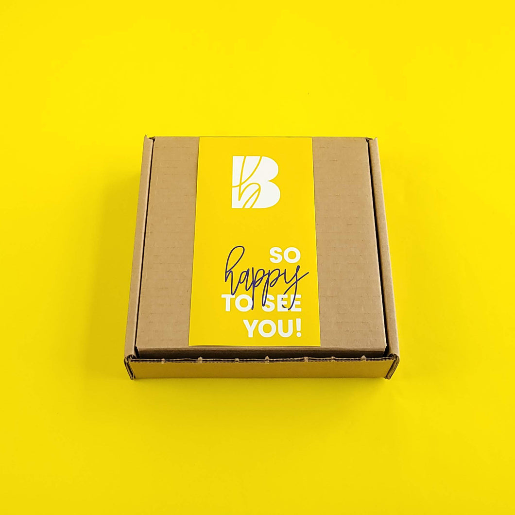 YELLOW CURATED BOX