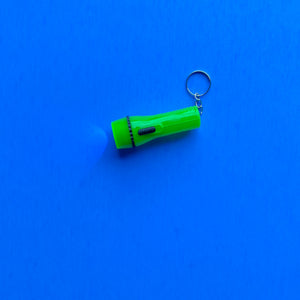 + Mini Flashlight Keychain
