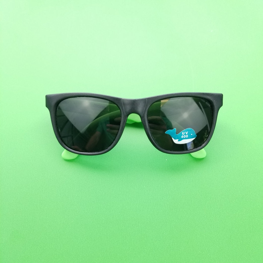 + Kids Size Green Sunglasses