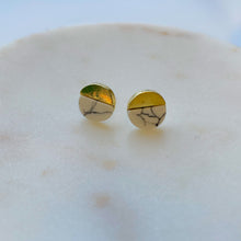 Load image into Gallery viewer, Marble Stud Earrings