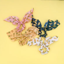 Load image into Gallery viewer, Pineapple Scarf Scrunchie