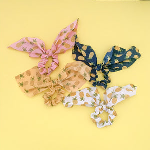 Pineapple Scarf Scrunchie