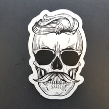 Load image into Gallery viewer, Cool Skull Sticker