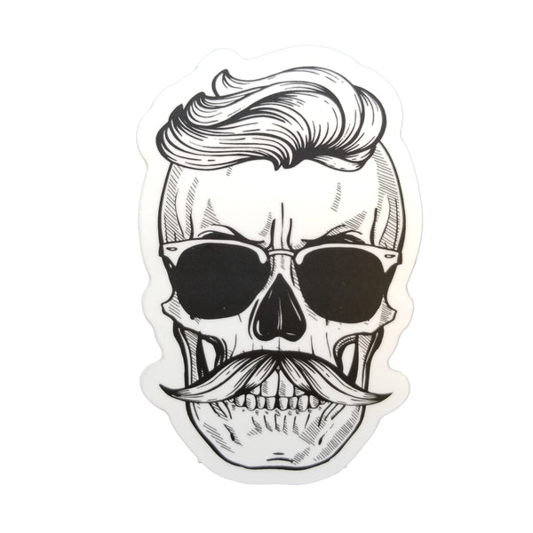 Cool Skull Sticker