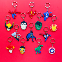 Load image into Gallery viewer, Superhero Keychain - 2 pk