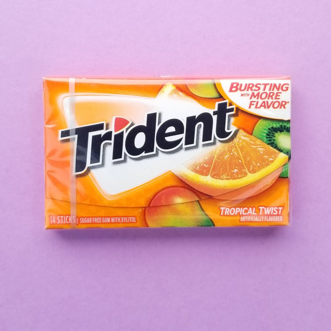 + Trident Tropical Twist Gum