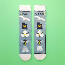 Load image into Gallery viewer, Utah is Rad Socks
