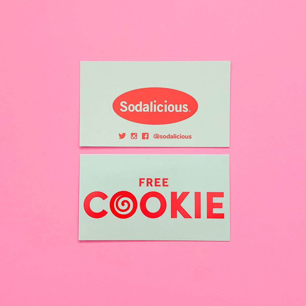 + Sodalicious Cookie Card