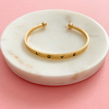 Load image into Gallery viewer, Love Bangle Bracelet