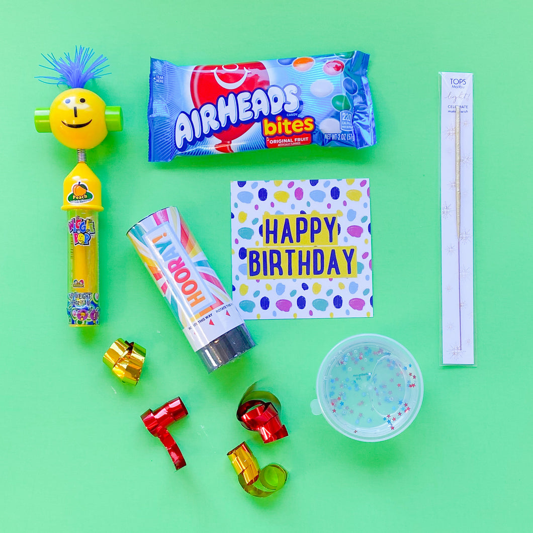 BIRTHDAY BOX - LITTLES