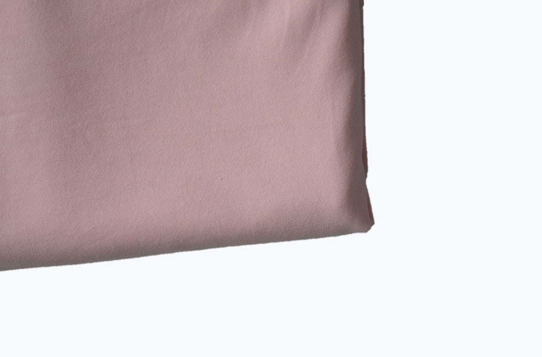 Solid Dusty Rose Cotton Lycra