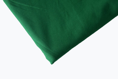 Solid Kelly Green Cotton Lycra