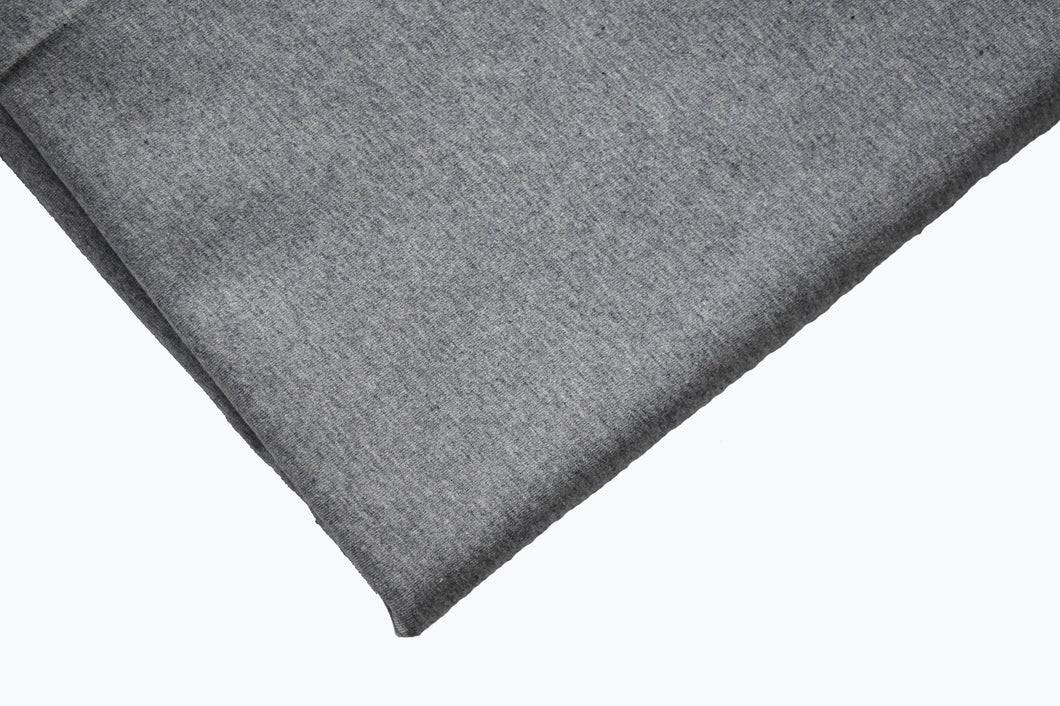 Solid Heathered Grey Cotton Lycra