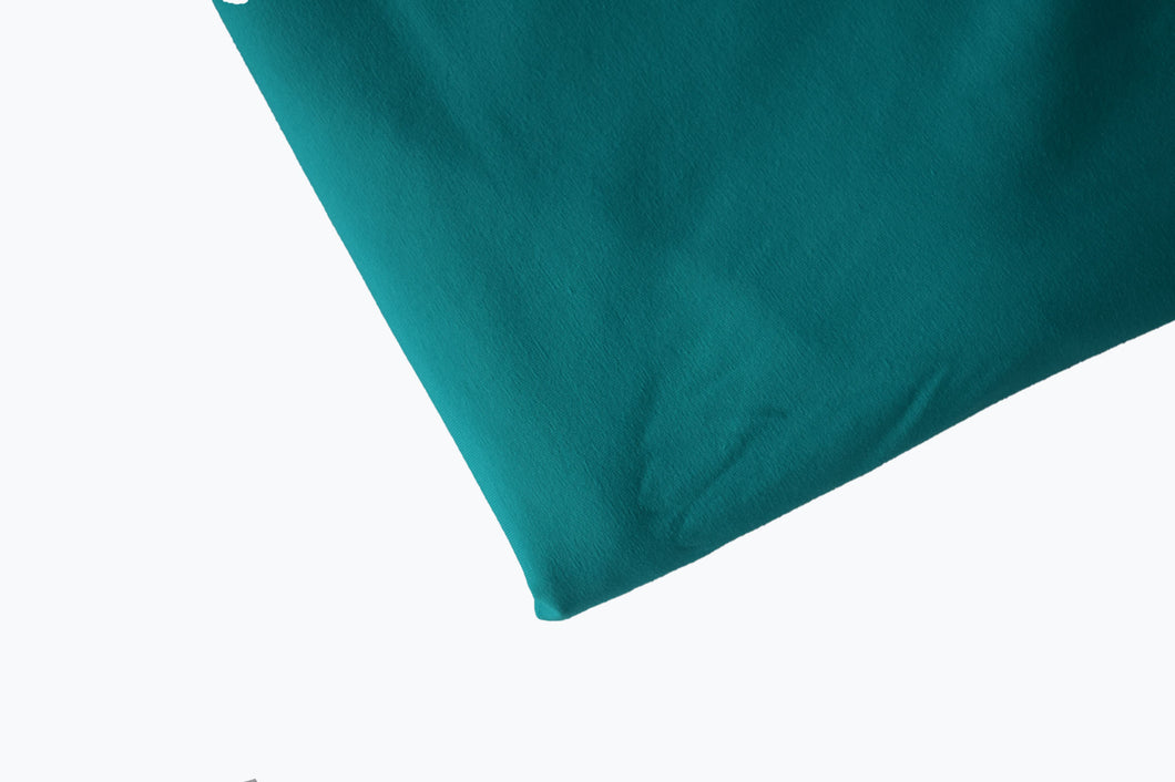 Solid Teal Cotton Lycra