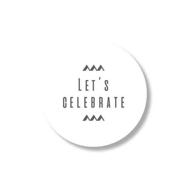 let's celebrate stickers (24st)