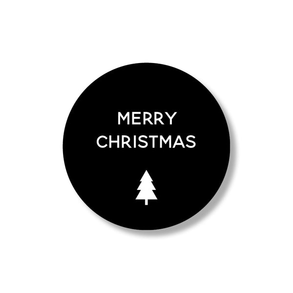merry christmas stickers (24st)