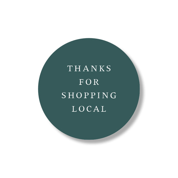 shop local stickers (24st)