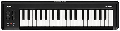 Korg microKEY2 - 37 - Key iOS-Powerable USB MIDI Controller with Pedal Input