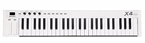 midiplus X4 mini MIDI Keyboard Controller, White