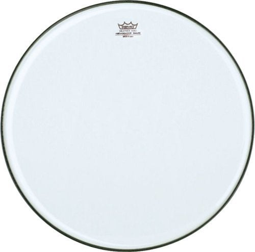 Remo SA0313-TD Clear Ambassador Marching Snare Side Drum Head (13-Inch) - No Collar