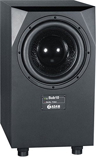 Adam Audio Sub10 Mk2 Powered Studio Subwoofer Black