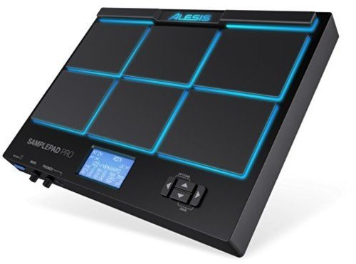 Alesis SamplePad Pro | 8-Pad Percussion and Sample-Triggering Instrument with SD Card Slot & 5-Pin MIDI In/Out