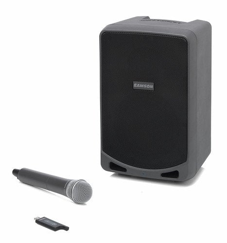 Samson Expedition XP106w Rechargeable Portable PA System with Wireless Handheld Microphone and Bluetooth