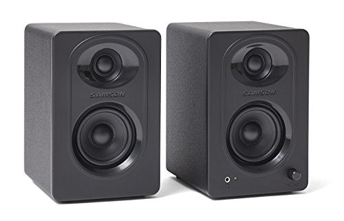 "Samson MediaOne M30 3"" Powered Studio Monitors (Pair)"