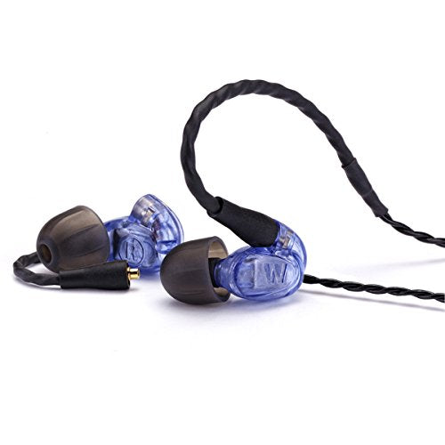 Westone - Old Model - UM Pro10 High Performance Single Driver Noise-Isolating In-Ear Monitors - Blue - Discontinued by Manufacturer