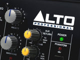 Alto Professional ZMX122FX | 8-Channel 2-Bus Compact Mixer with 16 Inputs and 256 On-Board Effects