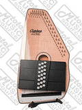 Oscar Schmidt OS110-21FNE 21 Chord Flame Maple Autoharp with Fine Tuning System and Pickup - Natural