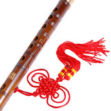 1pkg Pluggable Traditional Handmade Chinese Musical Instrument Bamboo Flute/dizi in G Key