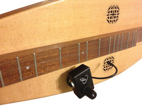 MOUNTAIN DULCIMER PICKUP with FLEXIBLE MICRO-GOOSE NECK by Myers Pickups ~ See it in ACTION! Copy and paste: myerspickups.com