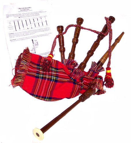Tiny Tots Bagpipes WITH Instruction Sheet